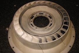 Industrial turbine repair