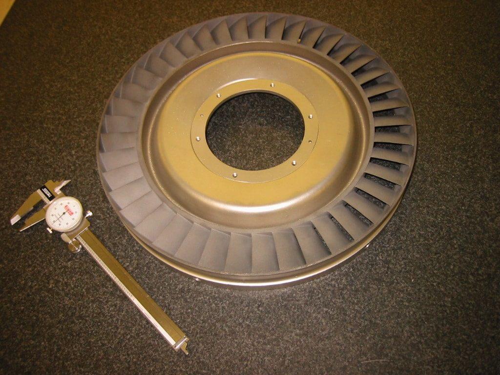 Saturn 2nd Stage Turbine Nozzle