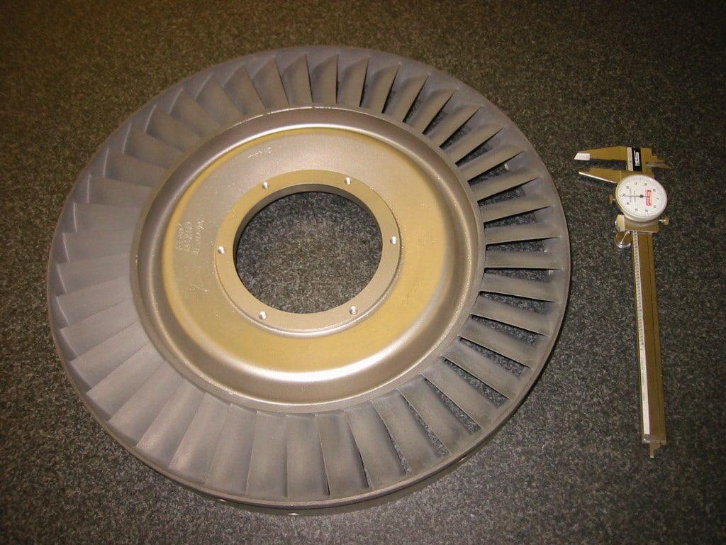 Saturn 3rd Stage Turbine Nozzle