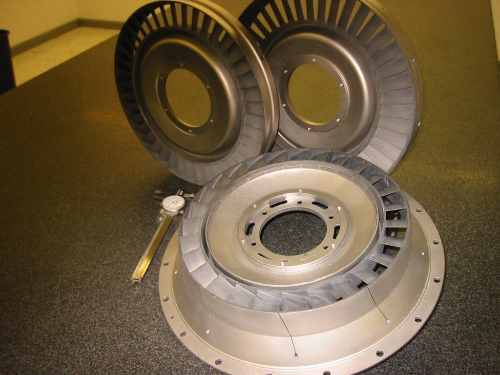 Saturn Turbine Nozzles